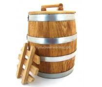 Кадка для солений дубовая, 25 литров