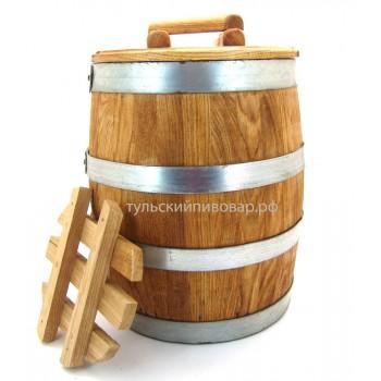 Кадка для солений дубовая, 20 литров