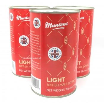 Неохмеленный экстракт Muntons LIGHT, 1,5кг