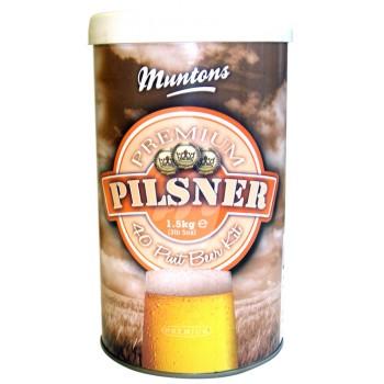 Солодовый экстракт Muntons PILSNER (Пилснер), 1.5кг