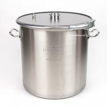 """Перегонный куб с хомутом, 21 литр (Clamp 1,5"""")"""