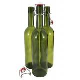 Винная бутылка 0,75л (с керамической бугельной пробкой)