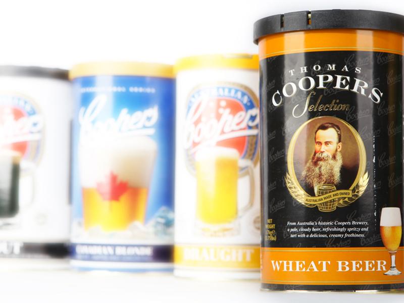 Coopers пивные концентраты