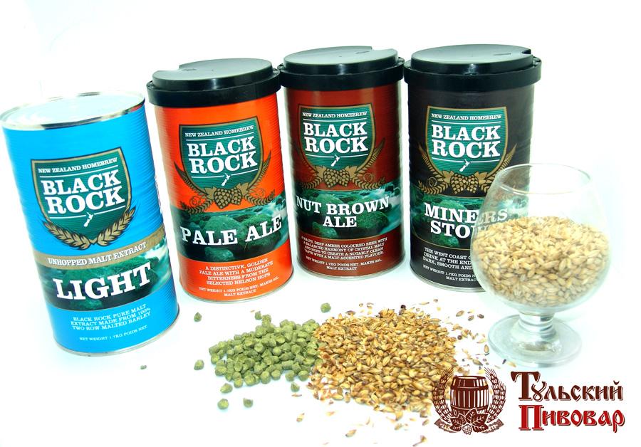 Солодовые экстракты Black Rock
